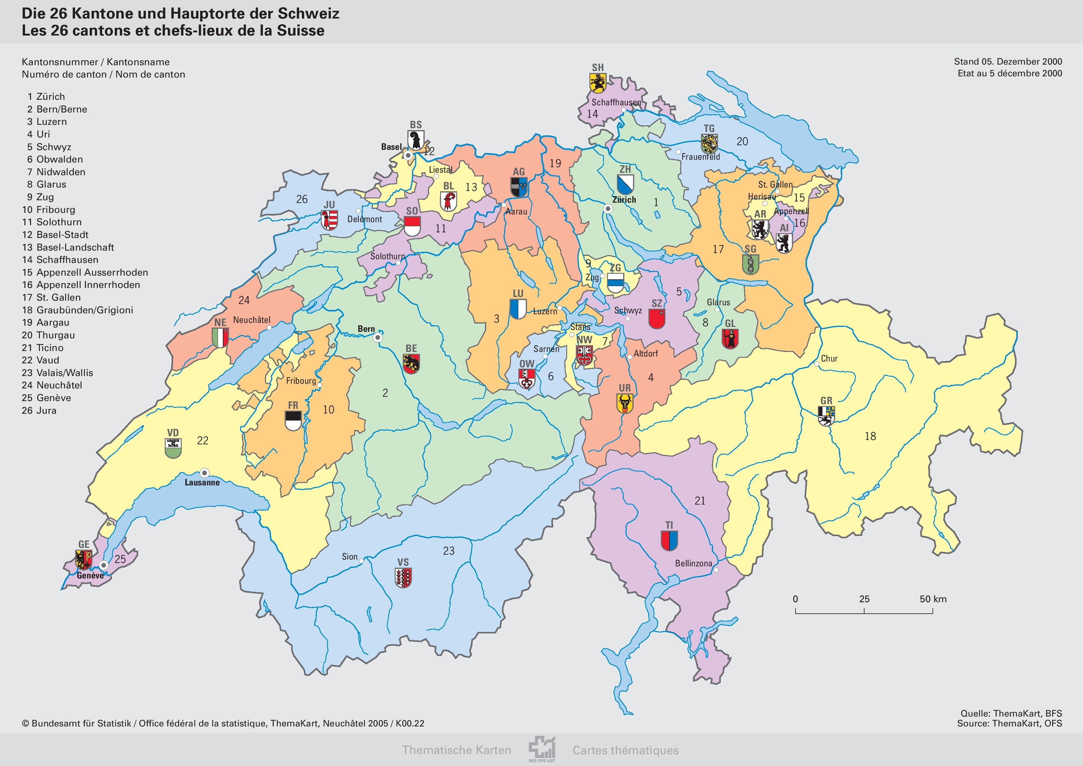 May Geovisualist - Population density in switzerland 2015